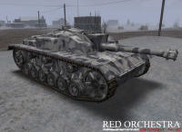 Red Orchestra: Ostfront Stug tank